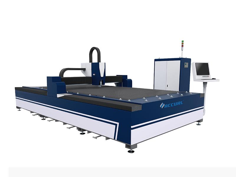 चीन सबसे प्रसिद्ध किफायती लोकप्रिय सबसे सस्ता QIGO फाइबर लेजर काटने की मशीन की कीमत धातु शीट्स के लिए है