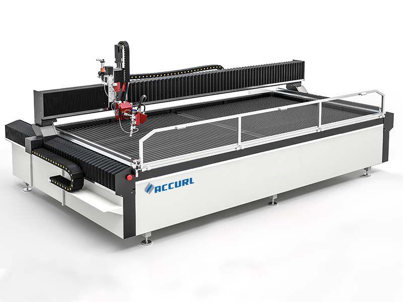बिक्री के लिए सीएनसी पानी जेट काटने की मशीन का इस्तेमाल किया